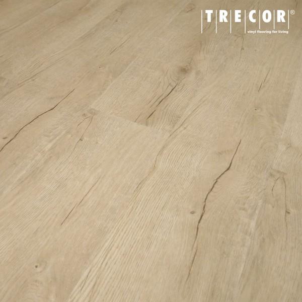 """TRECOR® Vinylboden massiv zum Kleben - Holzdekor - """"Prestige Eiche Beige """" Landhausdiele - 2,5 mm"""
