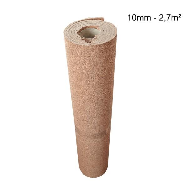 Rollenkork Kork Trittschalldämung Stärke: 10 mm, 2,7 qm Rolle - Rolle leicht beschädigt