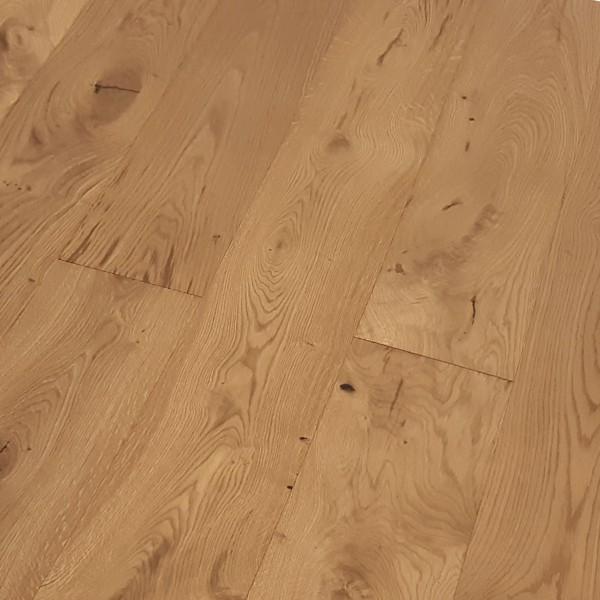 TRECOR® Parkett 3-Schicht Landhausdiele Eiche Rustikal gebürstet RUBIO R209 smoked oak endgeölt G5