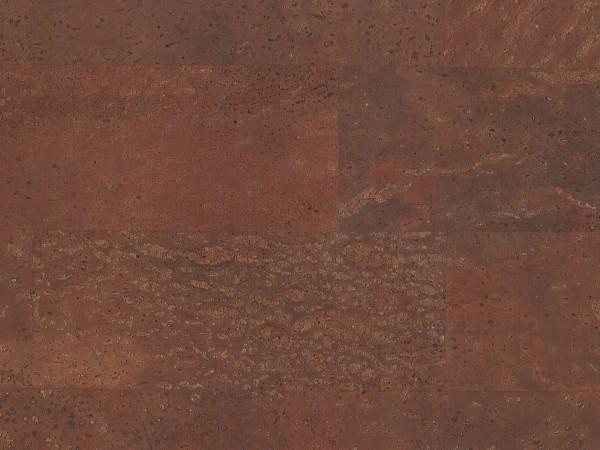 Korkboden TRECOR® CLASSIC Klebekork MERIDA Stärke: 4 mm, Oberfläche: ROH - Farbe: Rotbraun