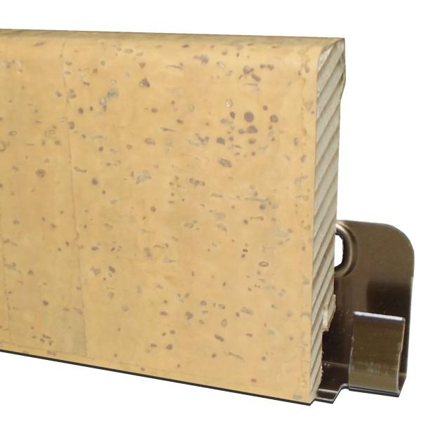 """Trecor® Korksockelleiste """"MERIDA"""" mit Echtkorkoberfläche"""
