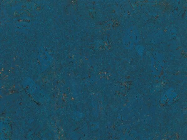 TRECOR® Korkboden mit Klicksystem FORTI Korkfertigparkett - 10,5 mm Stark - Farbe: Signalblau
