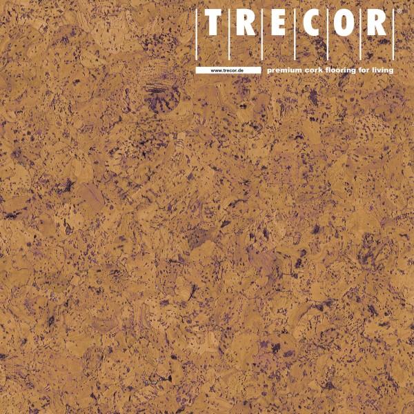 "TRECOR® Korkboden mit Klicksystem ""EVORA"" Korkfertigparkett - 10,5 mm Stark - Farbe: Orange"