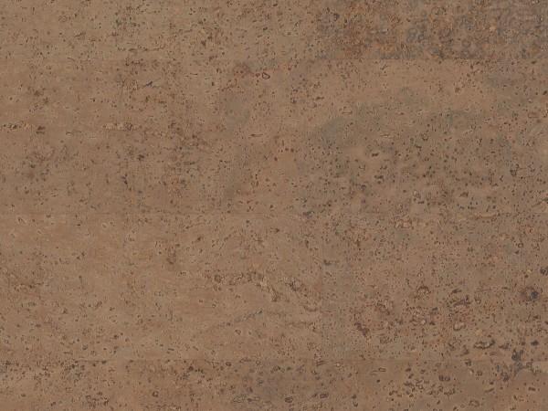 Korkboden TRECOR® CLASSIC Klebekork MERIDA Stärke: 4 mm, Oberfläche: ROH - Farbe: Braun