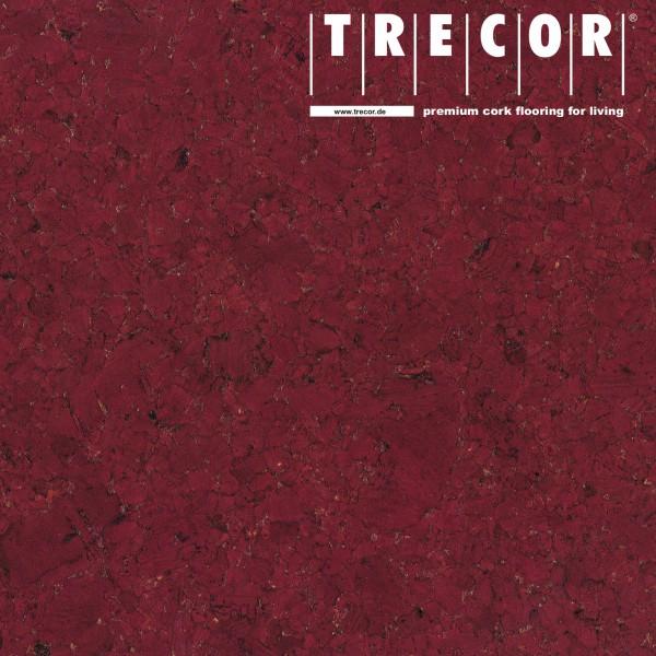 """TRECOR® Korkboden mit Klicksystem """"EVORA"""" Korkfertigparkett - 10,5 mm Stark - Farbe: Purpurrot"""