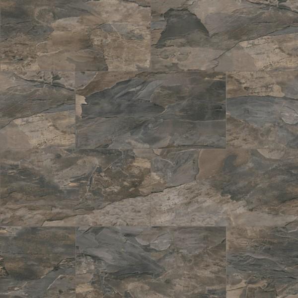 Laminatboden Fliesenoptik kronoOriginal - Impression - Pewter Slate, Fliese (OS) mit U-Fuge K3888