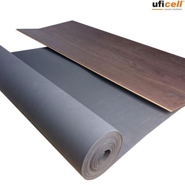 uficell® Multisound Akustik Trittschalldämmung für Laminat- und Parkettböden aus EVA-Schaum