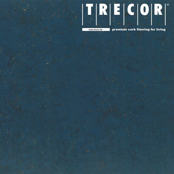 "TRECOR® Korkboden mit Klicksystem ""VARESE"" Korkfertigparkett - 10,5 mm Stark - Farbe: Violettblau"