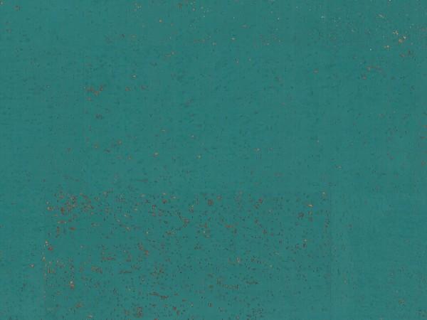 Korkboden TRECOR® CLASSIC Klebekork MERIDA Stärke: 4 mm, Oberfläche: ROH - Farbe: Minttürkis