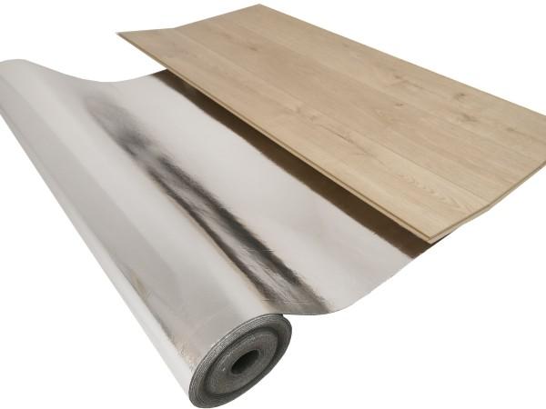 uficell® Silence Floor ALU Akustik Trittschalldämmung mit Mineralsandfüllung - Stärke: 2 mm - B-Ware
