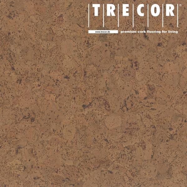 "TRECOR® Korkboden mit Klicksystem ""EVORA"" Korkfertigparkett - 10,5 mm Stark - Farbe: Braun"