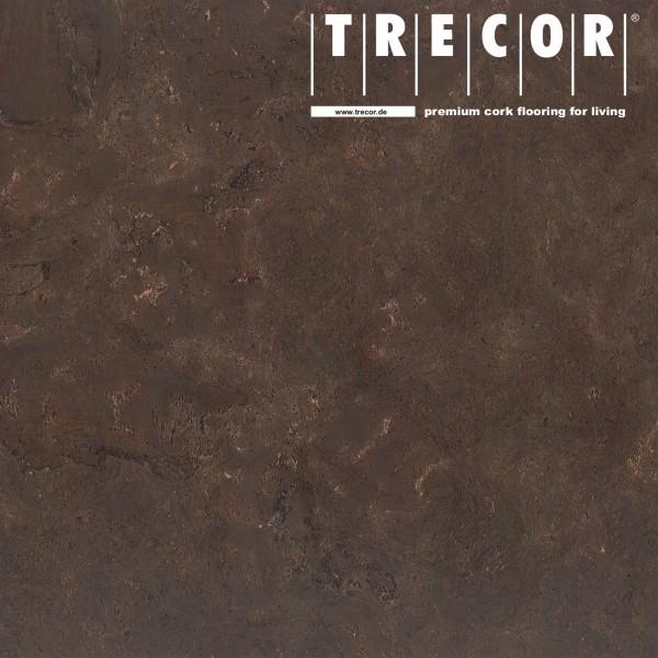 "Korkboden TRECOR® CLASSIC ""Klebekork ""VARESE"" Stärke: 4 mm, Oberfläche: ROH - Farbe: Dunkelbraun"