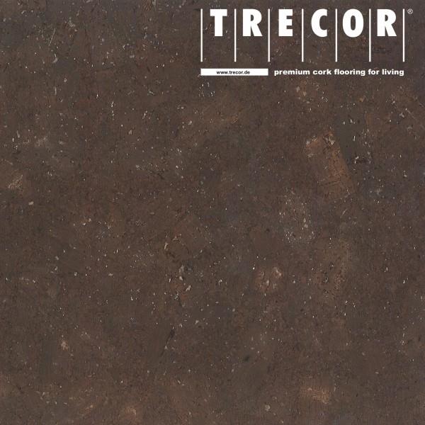 """TRECOR® Korkboden mit Klicksystem """"FORTI"""" Korkfertigparkett - 10,5 mm Stark - Farbe: Dunkelbraun"""