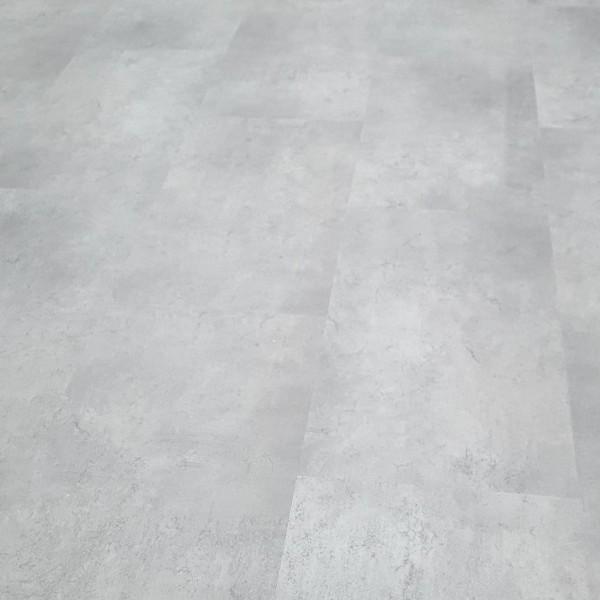 TRECOR® Klick Vinylboden RIGID 4.2 - Fliesendekor Stone White V-Fuge - 4,2 mm Stark