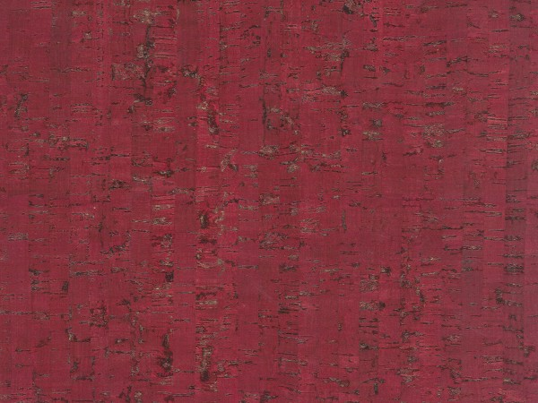 Korkboden TRECOR® CLASSIC Klebekork MAZARA Stärke: 4 mm, Oberfläche: ROH - Farbe: Purpurrot
