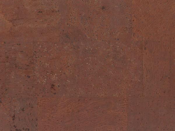 TRECOR® Korkboden mit Klicksystem MERIDA - 10 mm Stark - Farbe: Mahagonibraun
