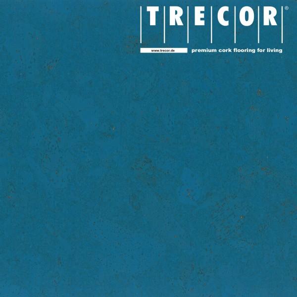 """TRECOR® Korkboden mit Klicksystem """"Lisboa"""" 10 mm Stark - Farbe: Himmelblau"""