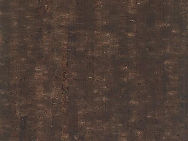 Korkboden TRECOR® CLASSIC Klebekork MAZARA Stärke: 4 mm, Oberfläche: ROH - Farbe: Dunkelbraun