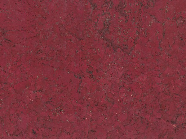 TRECOR® Korkboden mit Klicksystem VARESE Korkfertigparkett - 10,5 mm Stark - Farbe: Purpurrot