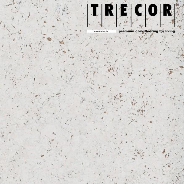 "Korkboden TRECOR® CLASSIC ""Klebekork ""FORTI"" Stärke: 4 mm, Oberfläche: ROH - Farbe: Weiß"