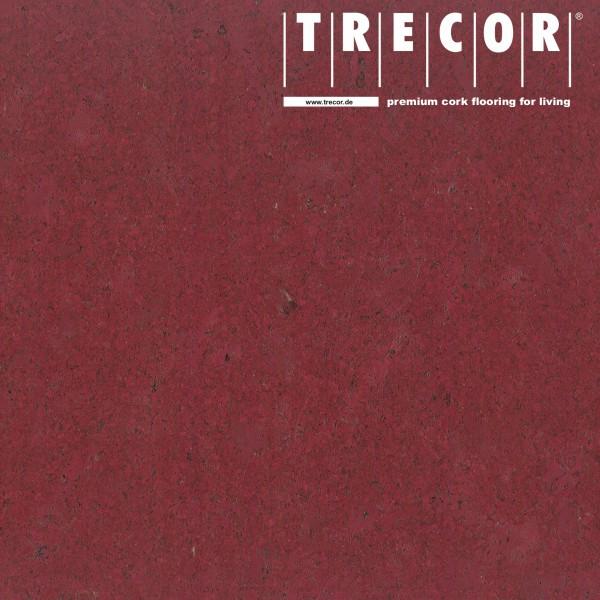 """TRECOR® Korkboden mit Klicksystem """"Lisboa"""" 10 mm Stark - Farbe: Purpurrot"""