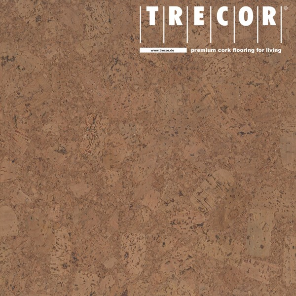 "Korkboden TRECOR® CLASSIC ""Klebekork ""FORTI"" Stärke: 4 mm, Oberfläche: ROH - Farbe: Braun"