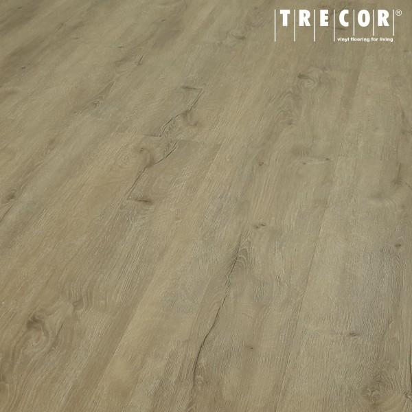 TRECOR® Klick Vinylboden RIGID 6.5 massiv - Eiche Premium Sand Landhausdiele XXL