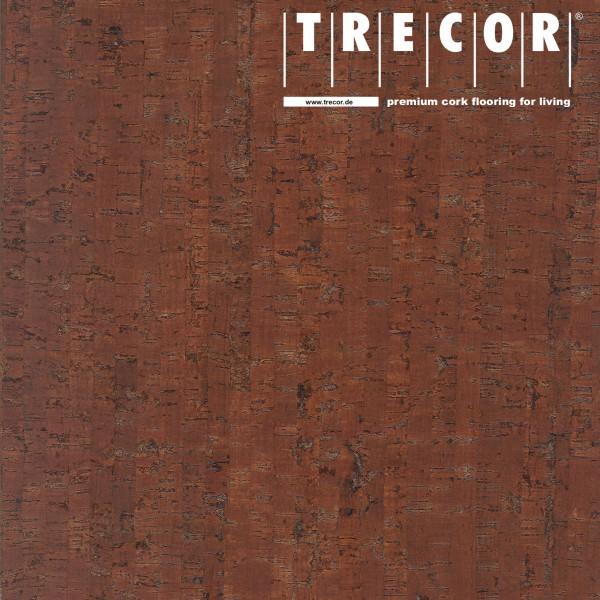 "Korkboden TRECOR® CLASSIC ""Klebekork ""MAZARA"" Stärke: 4 mm, Oberfläche: ROH - Farbe: Rotbraun"