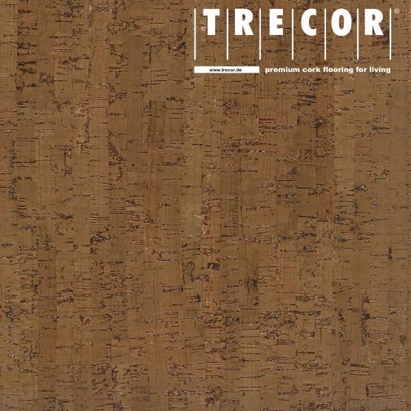 """TRECOR® Korkboden mit Klicksystem """"MAZARA"""" Korkfertigparkett - 10,5 mm Stark - Farbe: Braun"""
