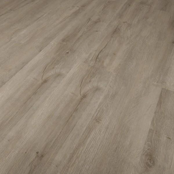 TRECOR Klick Vinylboden RIGID 3.2 massiv - Landhausdiele - Eiche Rustique Grau - 3,2 mm Stark