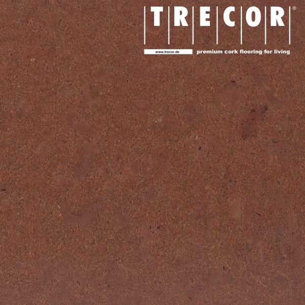 """TRECOR® Korkboden mit Klicksystem """"Lisboa"""" 10 mm Stark - Farbe: Rotbraun"""