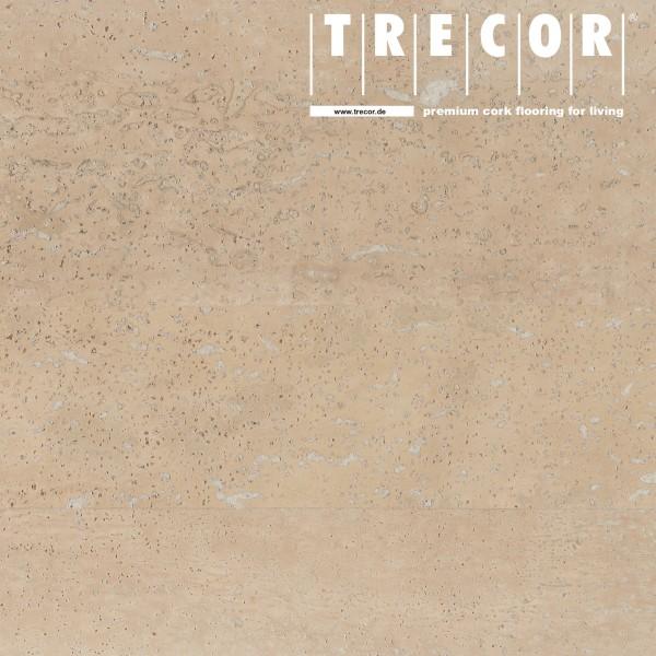 "Korkboden TRECOR® CLASSIC ""Klebekork ""MERIDA"" Stärke: 4 mm, Oberfläche: ROH - Farbe: Perlweiß"