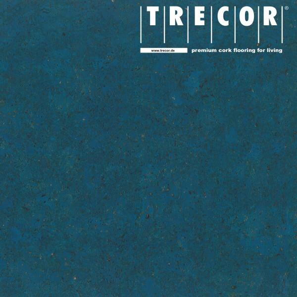 "TRECOR® Korkboden mit Klicksystem ""Lisboa"" 10 mm Stark - Farbe: Signalblau"