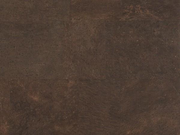 TRECOR® Korkboden mit Klicksystem MERIDA - 10 mm Stark - Farbe: Dunkelbraun
