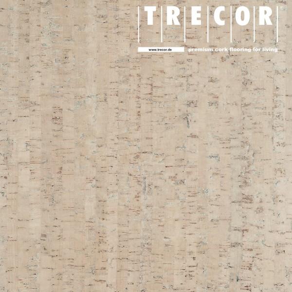 "Korkboden TRECOR® CLASSIC ""Klebekork ""MAZARA"" Stärke: 4 mm, Oberfläche: ROH - Farbe: Perlweiß"