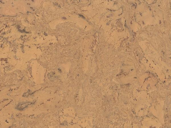 Korkboden TRECOR® CLASSIC Klebekork FRAMENTO Stärke: 4 mm, Oberfläche: ROH - Farbe: Hellgelb