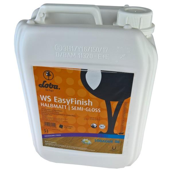 LOBADUR® WS EasyFinish, Kork und Parkettlack auf wasserbasis, für starke Beanspruchung