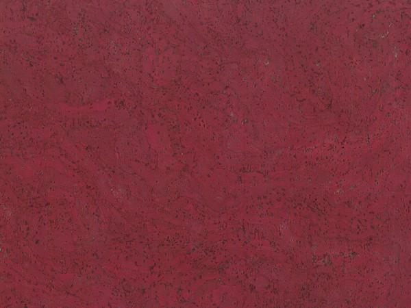 Korkboden TRECOR® CLASSIC Klebekork STILO Stärke: 4 mm, Oberfläche: ROH - Farbe: Pupurrot