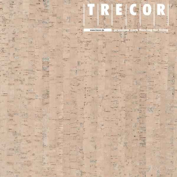 "TRECOR® Korkboden mit Klicksystem ""MAZARA"" Korkfertigparkett - 10,5 mm Stark - Farbe: Creme"