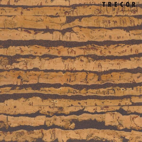 """TRECOR® Korkboden mit Klicksystem """"Expression"""" Korkfertigparkett - 10 mm Stark - Farbe: Natur"""