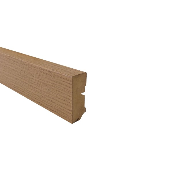Trecor® Sockelleiste Laminatsockelleiste Fußleiste Serie EXCLUSIV 18 x 50 mm, in vielen Holzdekoren