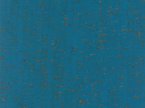 Korkboden TRECOR® CLASSIC Klebekork MAZARA Stärke: 4 mm, Oberfläche: ROH - Farbe: Himmelblau
