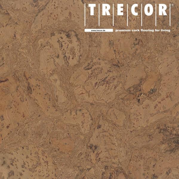 "Korkboden TRECOR® CLASSIC ""Klebekork ""VARESE"" Stärke: 4 mm, Oberfläche: ROH - Farbe: Braun"