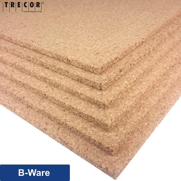 Trecor® Pinnwand Korkplatten (einseitig geschliffen) im XXL Format 1000 x 500 mm - Stärken 2-20 mm