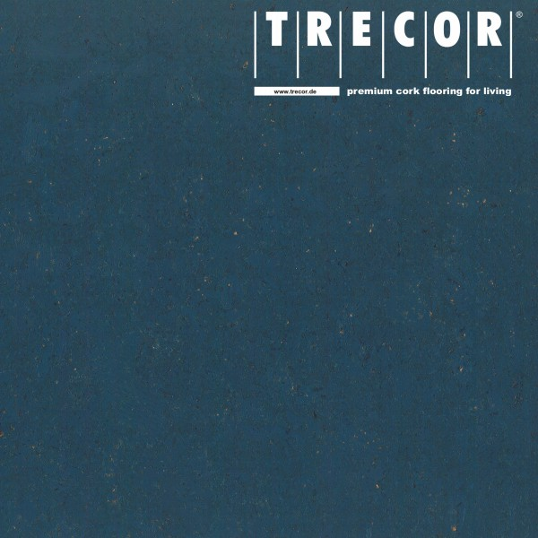 "TRECOR® Korkboden mit Klicksystem ""Lisboa"" 10 mm Stark - Farbe: Violettblau"