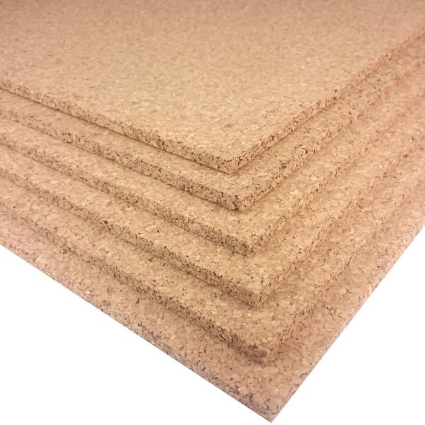 Trecor® Pinnwand Korkplatten (einseitig geschliffen) im XXL Format 1000 x 500 mm - Stärken 2-20 mm |