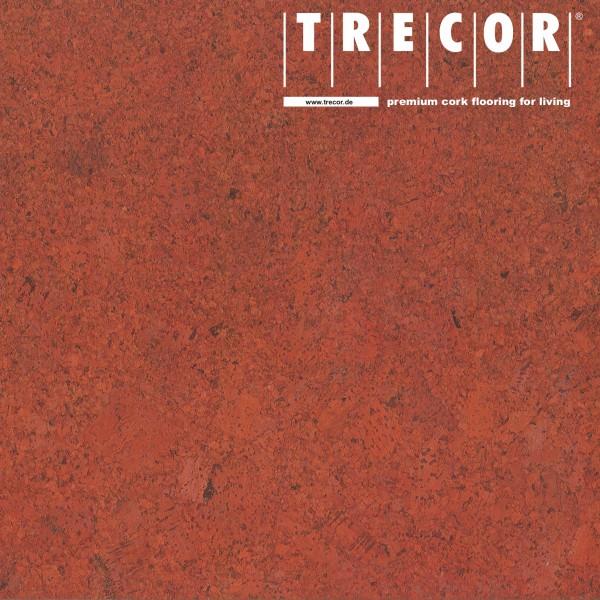 """TRECOR® Korkboden mit Klicksystem """"FORTI"""" Korkfertigparkett - 10,5 mm Stark - Farbe: Korallenrot"""