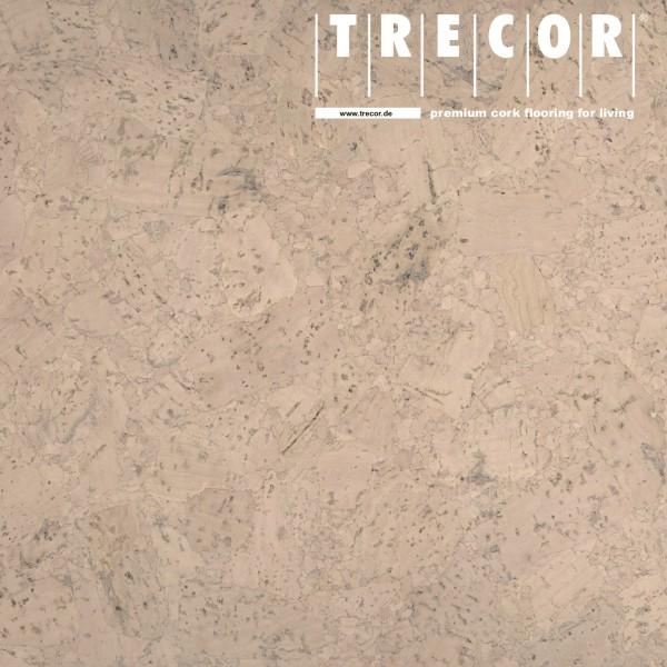 "TRECOR® Korkboden mit Klicksystem ""FORTI"" Korkfertigparkett - 10,5 mm Stark - Farbe: Creme"
