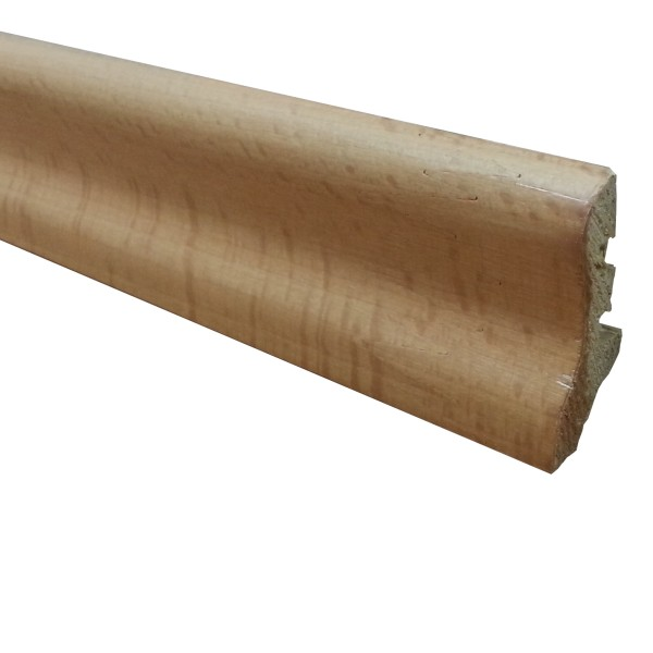TRECOR® Holz Sockelleiste, Parkettleiste BASIC, furniert, Echtholzummantelt, 20 x 40 mm - Aktion
