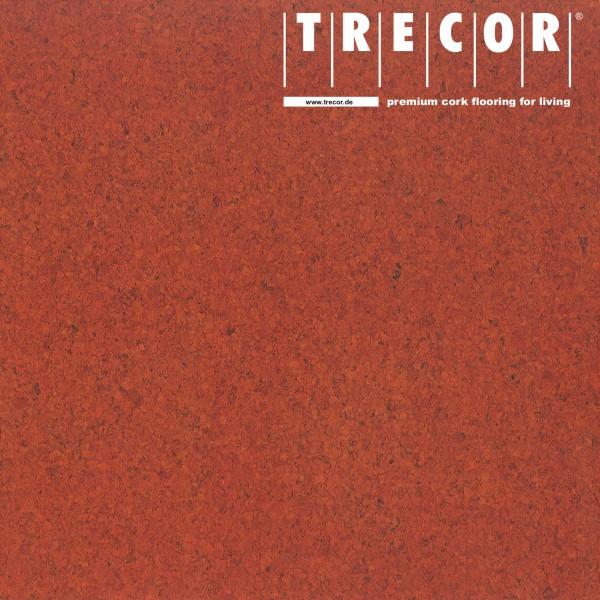 """TRECOR® Korkboden mit Klicksystem """"Lisboa"""" 10 mm Stark - Farbe: Korallenrot"""